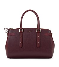 Aspinal Of London Brook Street Bag Unisex Burgundy