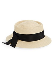 Gottex Olivia Straw Hat Natural Black