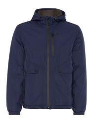 Army And Navy Foster Waterproof Fabric Jacket Navy
