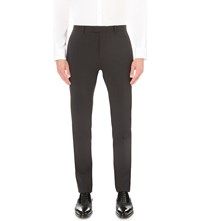 Dsquared Regular Fit Virgin Wool Trousers Dark Grey