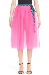 Marc Jacobs Women's Tulle Wrap Skirt Pink