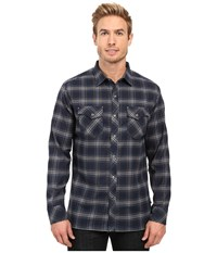Kuhl Maverik Blue Moon Men's Long Sleeve Button Up Navy