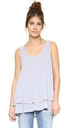 Wilt Double Layer Trapeze Top Misty