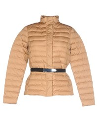 Ralph Lauren Black Label Coats And Jackets Down Jackets Women Camel