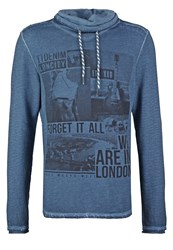 Tom Tailor Denim Basic Fit Sweatshirt Pure Teal Blue