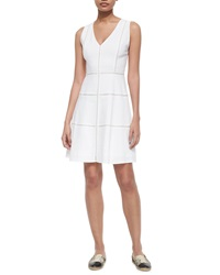 Theory Jemion Crunch Sleeveless Dress