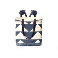 Mclovebuddy Bunting Convertible Tote Backpack Charcoal