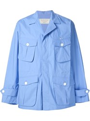 Maison Kitsune 'Tom Field' Jacket Blue