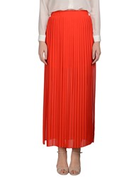 Pinko Tag Skirts Long Skirts Women Red
