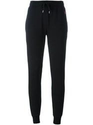 Mcq By Alexander Mcqueen 'Swallow' Track Pants Black