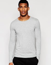 United Colors Of Benetton Long Sleeve Top Grey