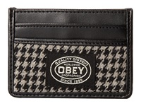 Obey Lowlands Id Wallet Black White Wallet Handbags