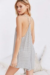 Out From Under Dreams Are Made Of This Romper Black And White