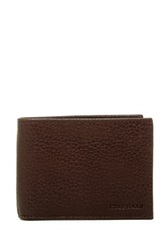 Cole Haan Slimfold Leather Wallet Brown