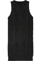 Maison Martin Margiela Cable Knit Mini Dress
