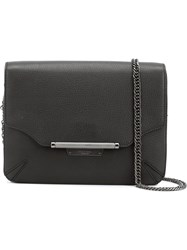Rag And Bone Rag And Bone Flap Shoulder Bag Black