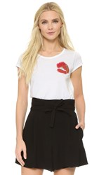 Marc Jacobs Mini Lips Tee White