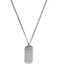 Links Of London Soho Silver Dog Tag Pendant