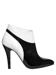 Maison Martin Margiela 100Mm Patent Leather Ankle Boots