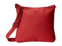 Lacoste Classic Flat Crossover Bag Flame Scarlet Cross Body Handbags Red