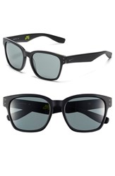 Women's Nike 'Volano' 55Mm Sunglasses Matte Black Gunmetal