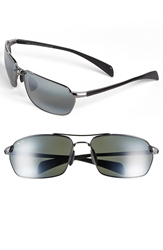Maui Jim 'Maliko Gulch' 65Mm Sunglasses Gunmetal