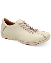 Born Born Men's Williams Baseball Oxfords Men's Shoes White
