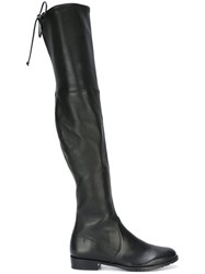 Stuart Weitzman 'Low Land Plonges' Boots Black