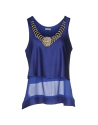 Le Ragazze Di St. Barth Topwear Tops Women Blue