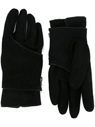 The Viridi Anne Combination Gloves Black
