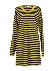 See By Chloe See By Chloe Short Dresses Yellow