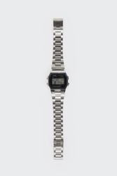 Good As Gold Online Clothing Store Mens And Womens Fashion Streetwear Nz Digital Watch A158wa 1D Silver Black