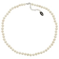 Finesse Freshwater Pearl Necklace White