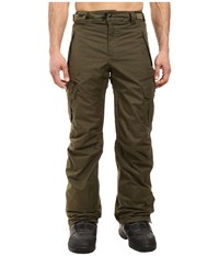 686 Authentic Smarty Cargo Pants Olive Melange Men's Casual Pants Gray