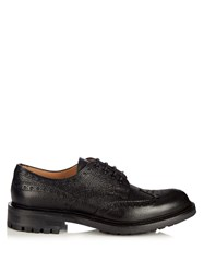 Cheaney Avon Grained Leather Brogues Black