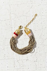 Urban Outfitters Summer Snake Chain Bracelet Gold