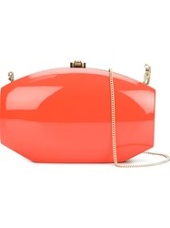 Rocio 'Delilah' Clutch Yellow And Orange
