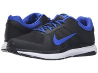 Nike Dart 12 Black Racer Blue Anthracite White Men's Running Shoes