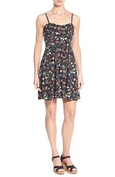 Women's Dex Floral Print Fit And Flare Dress