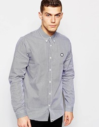 Pretty Green Shirt With Gingham Check Navy