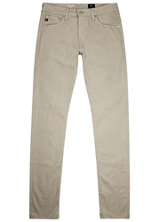 Ag Jeans The Stockton Sand Skinny Beige
