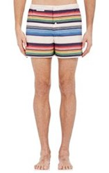Sleepy Jones Men's Striped Jasper Boxers Multi