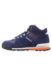 Merrell Eagle Mid Walking Boots Eclipse Purple
