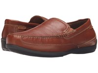 Florsheim Moto Venetian Slip On Cognac Milled Men's Slip On Shoes Brown