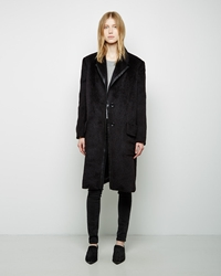 Alexander Wang Faux Fur Car Coat Metropolis