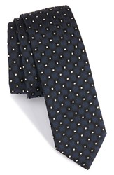 Boss Men's Geometric Silk Skinny Tie
