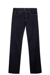 7 For All Mankind Standard Rise Jeans Navy