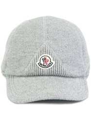Moncler Knitted Cap Grey