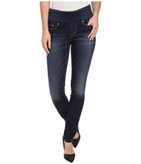 Jag Jeans Nora Pull On Skinny Knit Denim In Blue Ridge Blue Ridge Women's Jeans