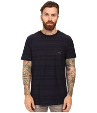 Vissla Sognar Short Sleeve Pocket Tee Slub Jersey Indigo Men's T Shirt Blue